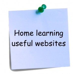 Home learning useful websites